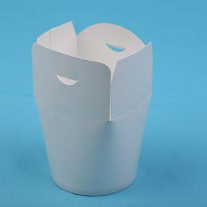 Street food Papír tésztás doboz
